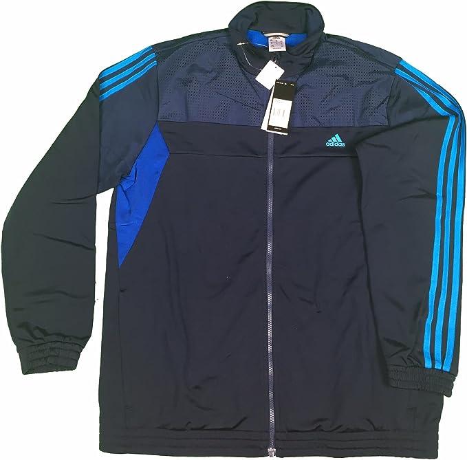 algodón Maligno Preguntarse  Adidas TS Train KN OC Men's Tracksuit Black: Amazon.de: Bekleidung