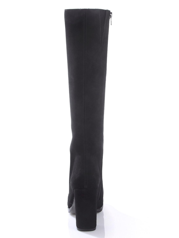 Alba Moda Damen Stiefel Stiefel Stiefel aus Rindsleder d45df2