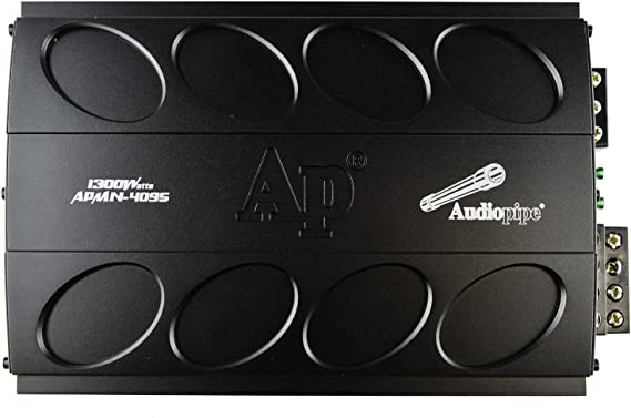 AudioPipe APCLE-3002 2 Channel 1500 Watt Car Audio Speaker Subwoofer Sound System Power Amplifier Amp