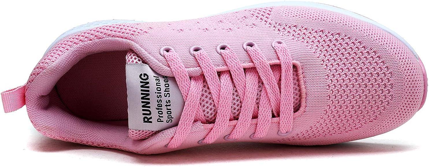 Zapatillas de Running para Mujer Deportivos de Gimnasia Ligero: Amazon.es: Zapatos y complementos