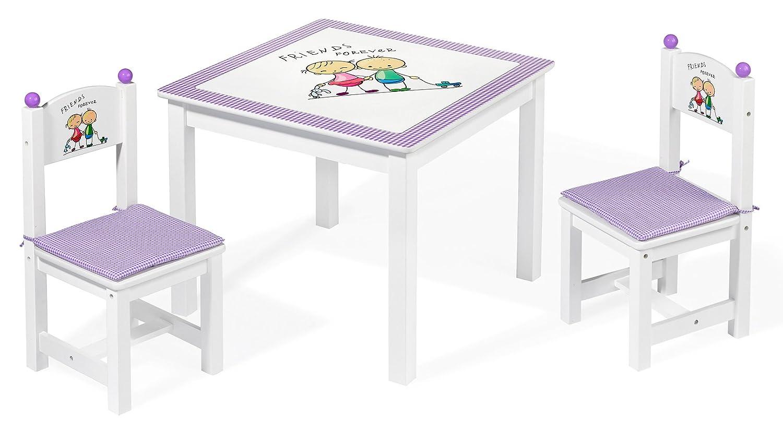Howa Table et chaises pour enfants friends forever 5850