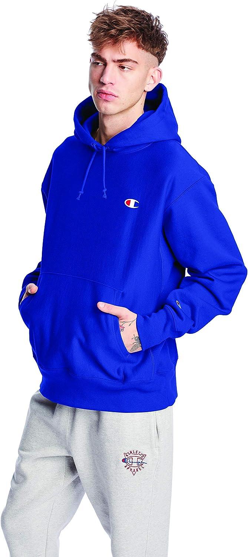 Champion Men's Reverse Weave Left Chest C Pullover