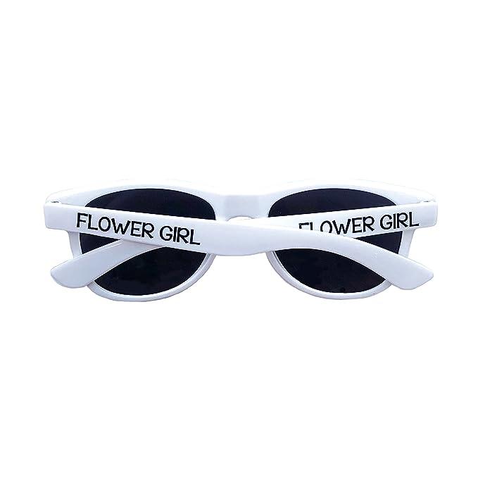 Amazon.com: Ring Bearer Gafas de sol | Flower Girl Gafas de ...