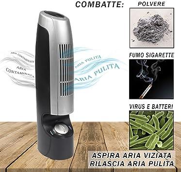 vetrineinrete® purificador de aire con ionizador Igienizzante ...