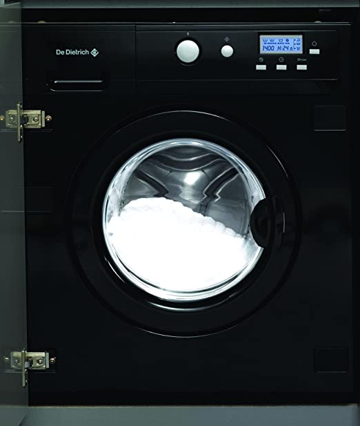 De Dietrich DLZ693BU Integrado Carga frontal B Negro lavadora ...
