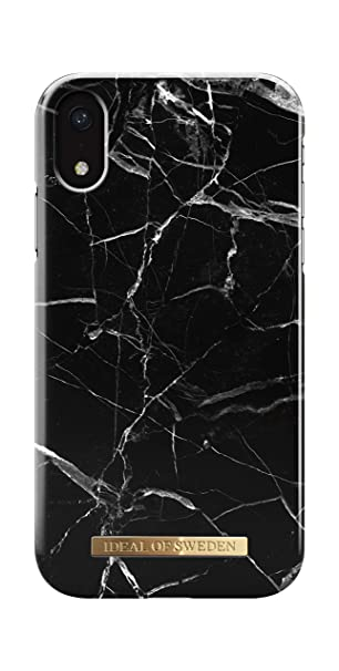 5dd0c5c653 Amazon.com: iDeal Of Sweden iPhone XR Case (Black Marble): Electronics
