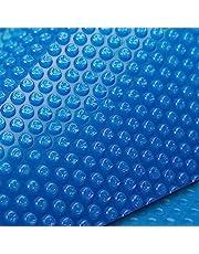 AURELAQUA Solar Swimming Pool Cover 500 Micron Heater Bubble Blanket 9.5x5m