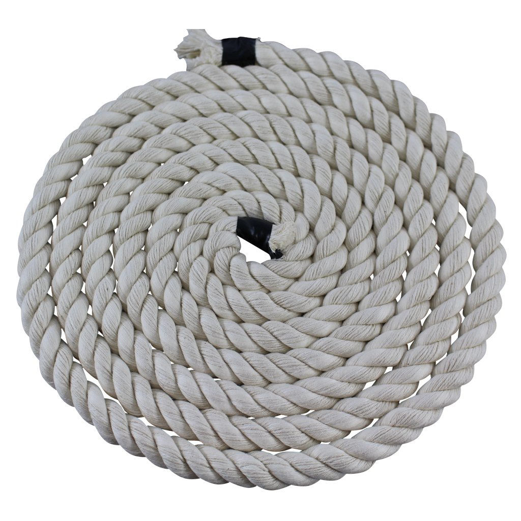 Twisted Cotton Rope (1/4 inch) - SGT KNOTS - All Natural Fiber Cord - Durable and Versatile Utility Rope - Crafting, DIY Use, Binding, Home Decor, Camping, Boating, Marine (100 feet - Natural) by SGT KNOTS (Image #2)