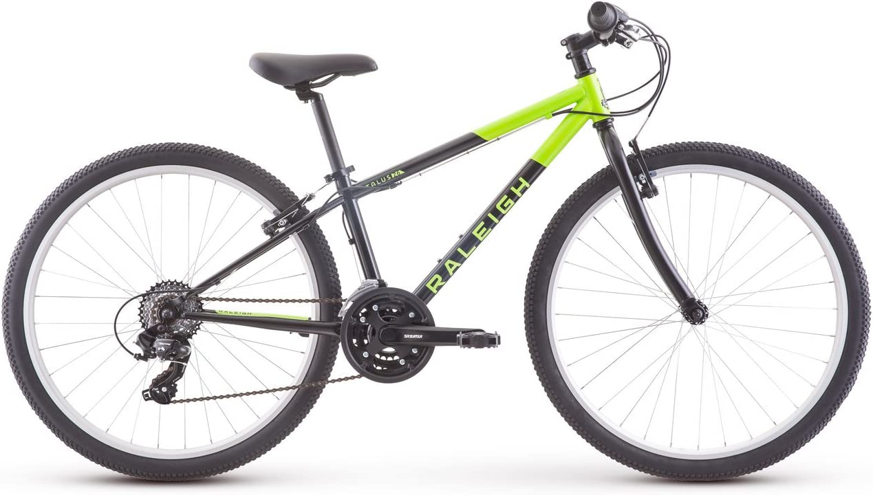 Raleigh Bikes Talus 26 Kids Mountain Bike for Boys girls Youth 12-16 Years Old