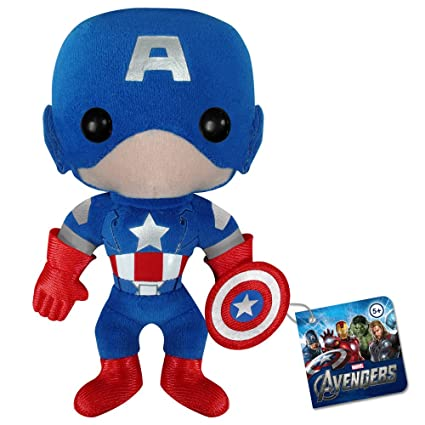 Amazon.com: Funko Marvel Avengers Movie Capitán América ...