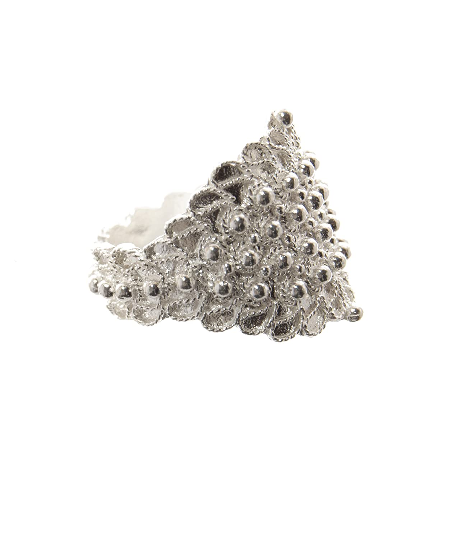 Marrocu Gioielli Fede sarda campidanese in argento 4 fili