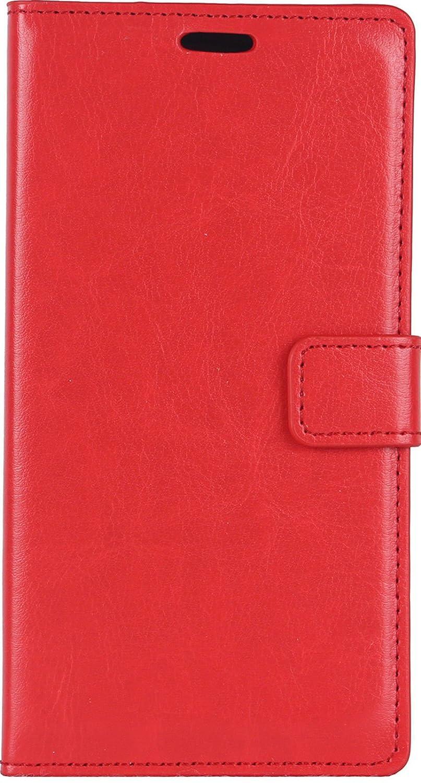 AR Premium di alta qualità PU custodia a portafoglio in pelle per Samsung Galaxy J2con porta carte di credito libro viola PURPLE