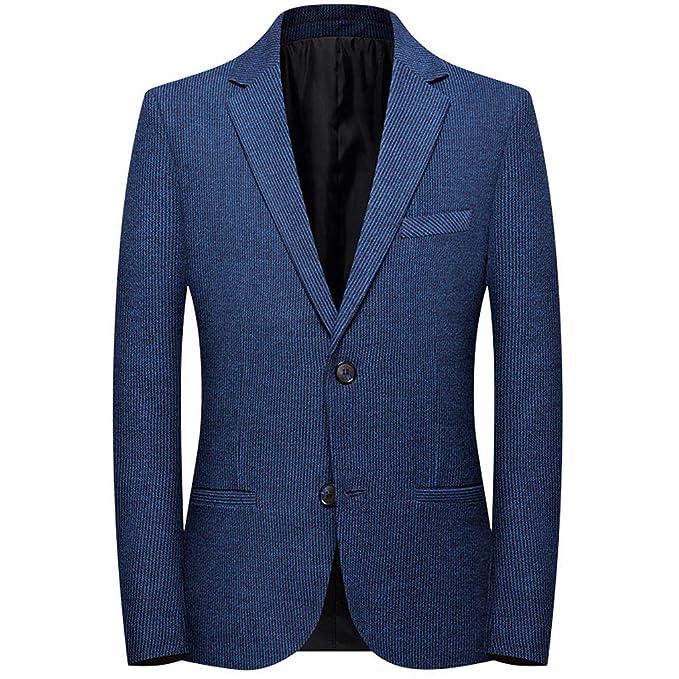 Tosonse Blazer Moda Hombre Traje Casual Solapa Slim Fit Elegante ...