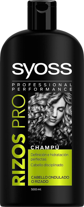 SYOSS - Champú Rizos Pro - Definición e Hidratación - 500ml