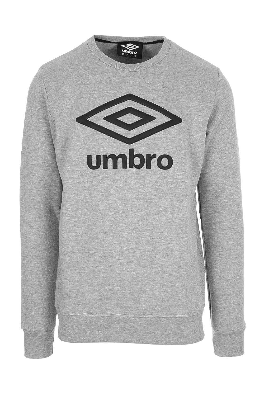 UMBRO - Sudadera - para Hombre Gris S: Amazon.es: Ropa y accesorios