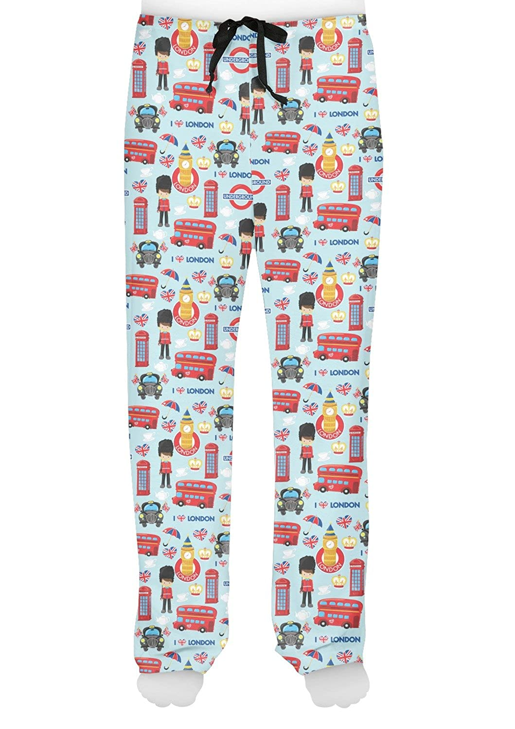 RNK Shops London Mens Pajama Pants Personalized