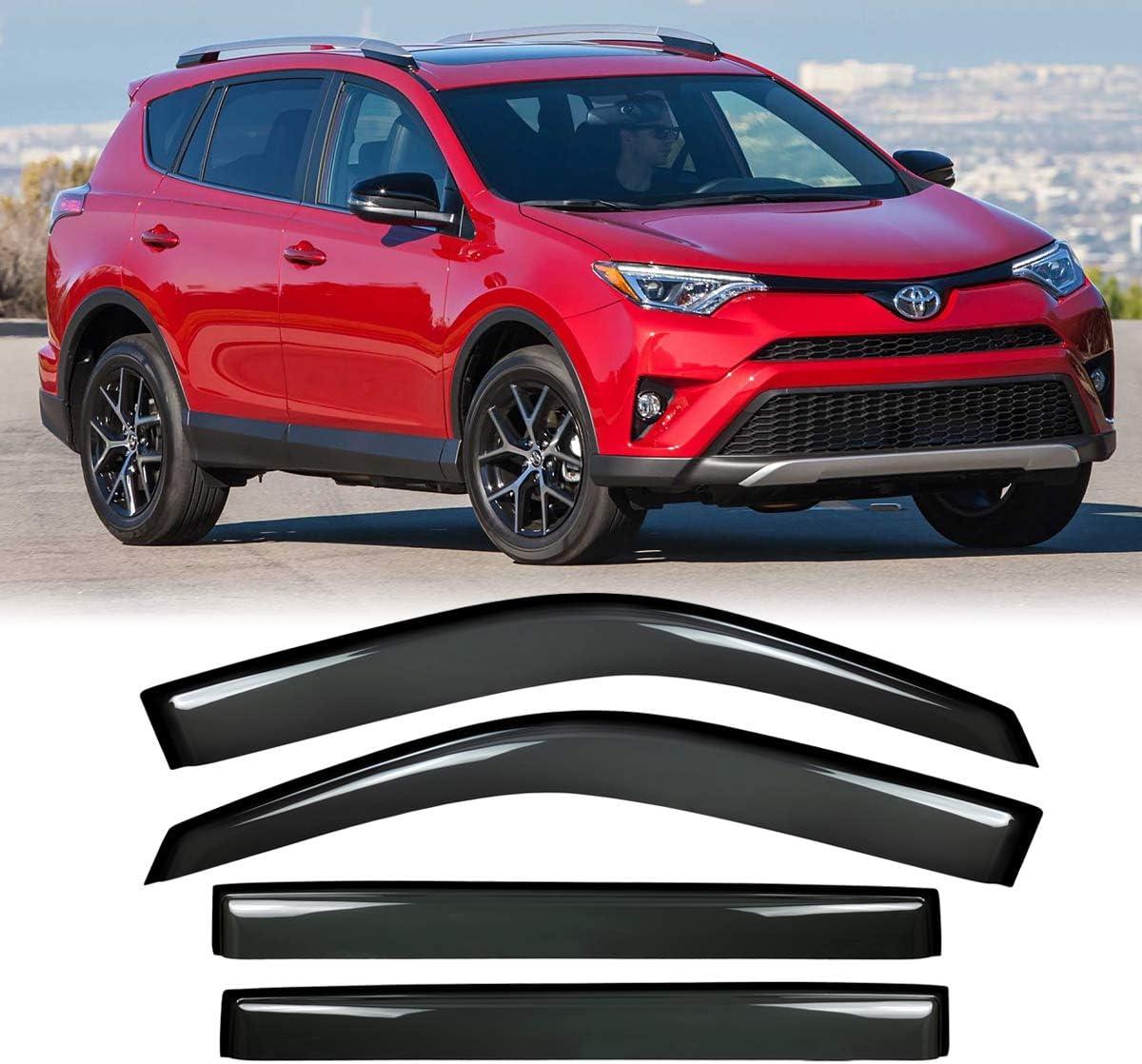For Toyota RAV4 2013-2018 Side Window Vent Visor Sun Rain Deflector Guard NEW#