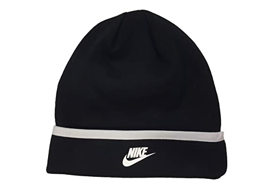 60e2da06d70 Amazon.com  Nike Swoosh Logo Toddler Boys 4 7 Roll Cuff Beanie Knit ...
