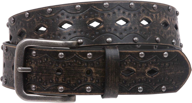 beltiscool Fijaci/ón a presi/ón con tachuelas Vintage en relieve Jean cintur/ón