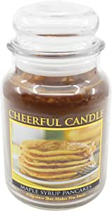 A Cheerful Giver Maple Syrup Pancakes 24 oz. Jar Candle
