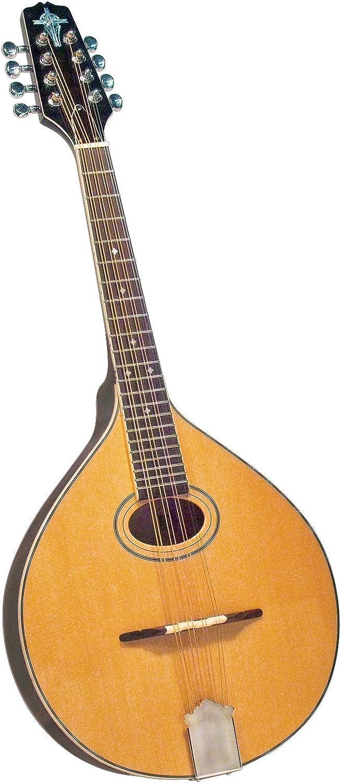 Trinity College TM-325 Standard Celtic Octave Mandolin with Hardshell Case