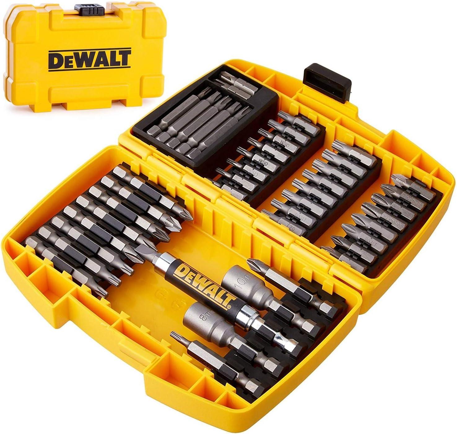 DeWalt DT71702-QZ - Juego de 45 puntas para atornillar tipo Tough Case