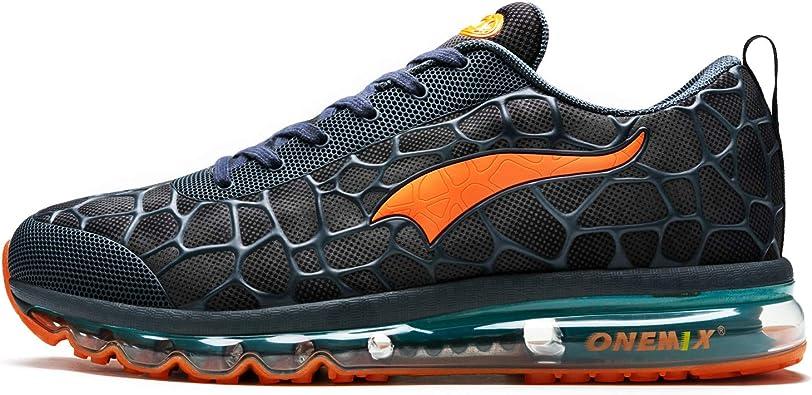 ONEMIX Zapatillas Running para Hombre Aire Libre y Deporte Transpirables Casual Zapatos Gimnasio Correr Sneakers: Amazon.es: Zapatos y complementos