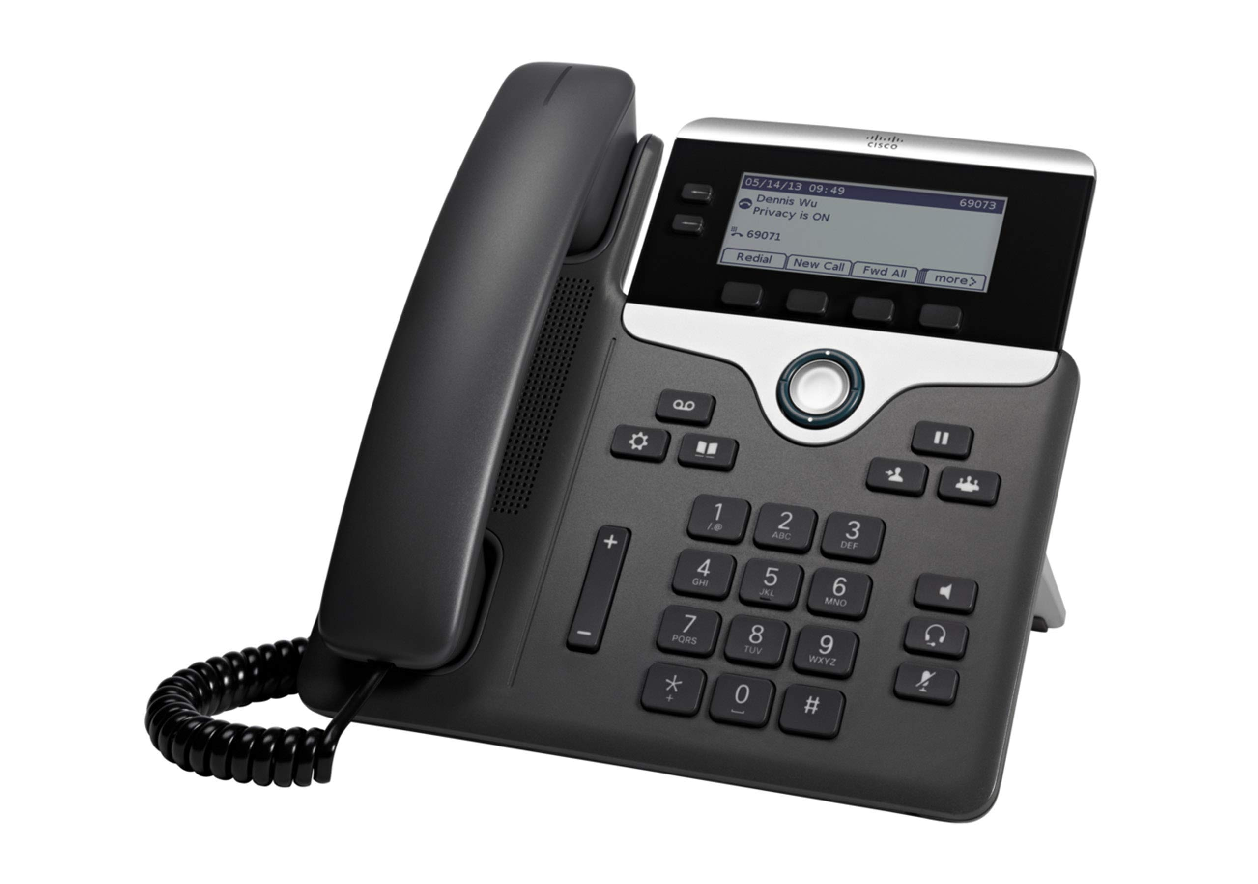 Cisco IP Phone CP-7821-K9 Charcoal,Black