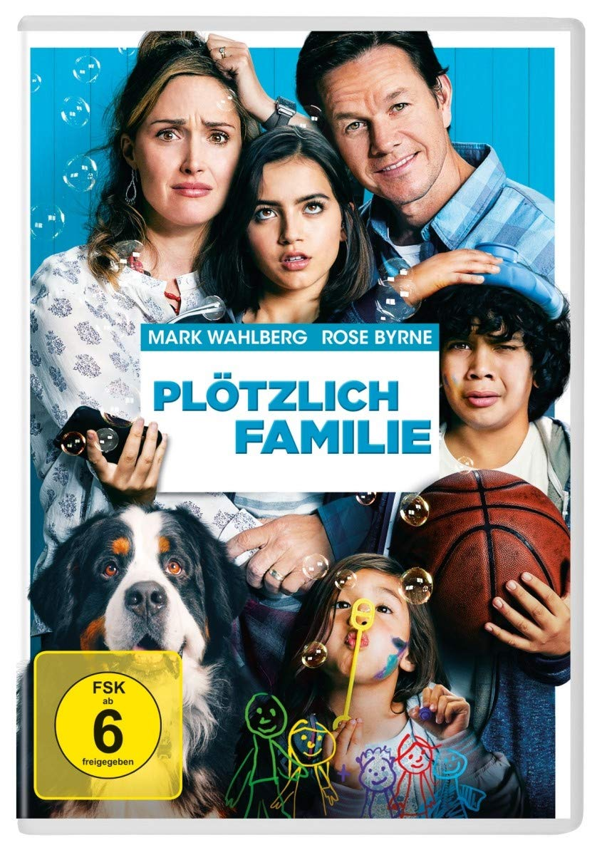 Cover: Plötzlich Familie 1 DVD (circa 113 min)