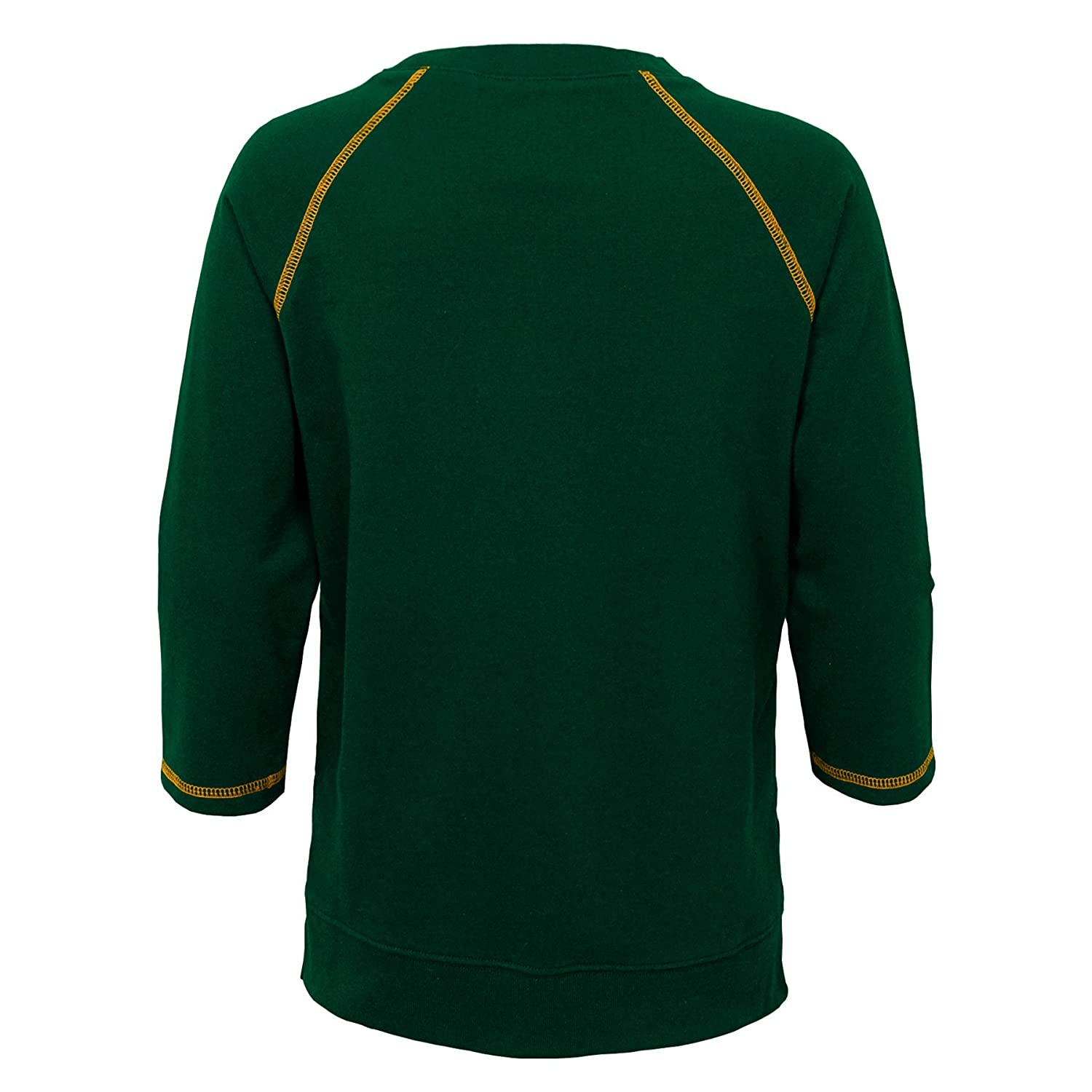 14 Youth Large NFL Green Bay Packers Youth Boys Overthrow Pullover Top Hunter Green