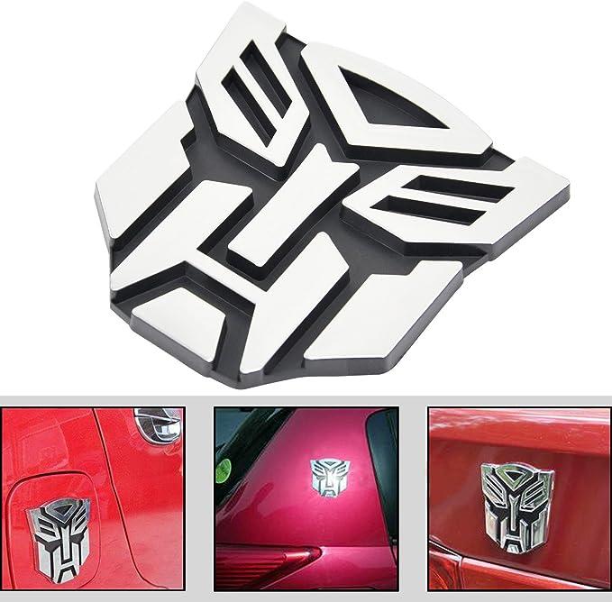 TRIXES Transformateurs Autobots Logo Symbole Badge Autocollant de Voiture