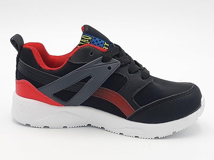 kaliao Shoes scarpe bimbo bambino per Inverno Autunno sportive casual comode sneakers da ginnastica con lacci colore BH8ov1vru