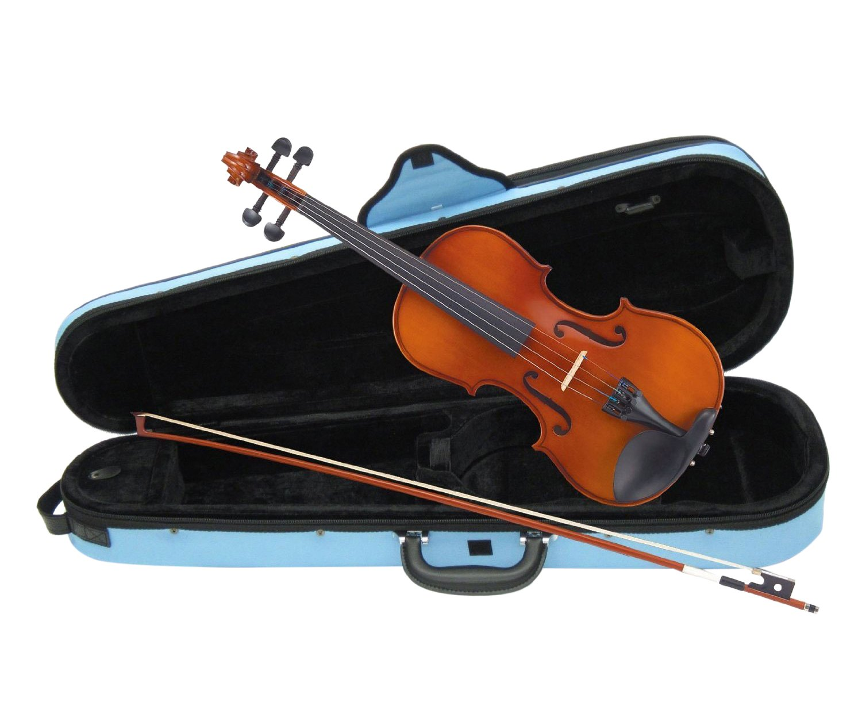 カルロジョルダーノ バイオリンアウトフィット VS-1C 1/4 みずいろケースB00AK522FQ1/4|みずいろみずいろ43104