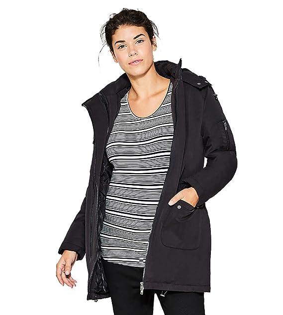 Esprit Mater - Chaqueta de plumón Maternidad de invierno Parka de Parker abrigo de chaquetas/Mujer: Amazon.es: Ropa y accesorios