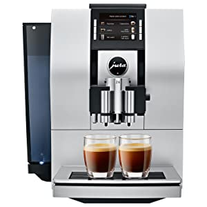 Jura 15093 Automatic Coffee Machine Z6, Aluminum