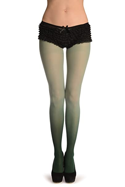 af08f4fc6807d Green & Emerald Ombre - Tights: Amazon.ca: Clothing & Accessories