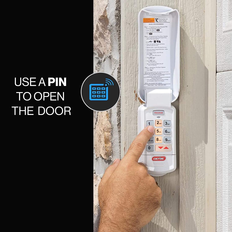9 x 7 x 2 inches Garage Door Opener Wireless Keyless Keypad