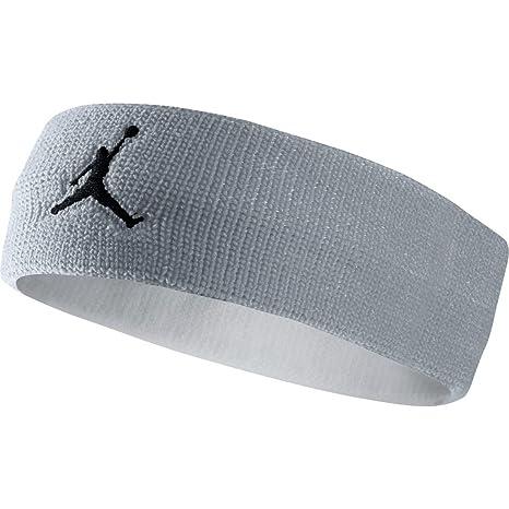 Nike Jordan Jumpman Fascia - Multicolore (Wolf Greey Bianco Nero) - Taglia c0128331714b
