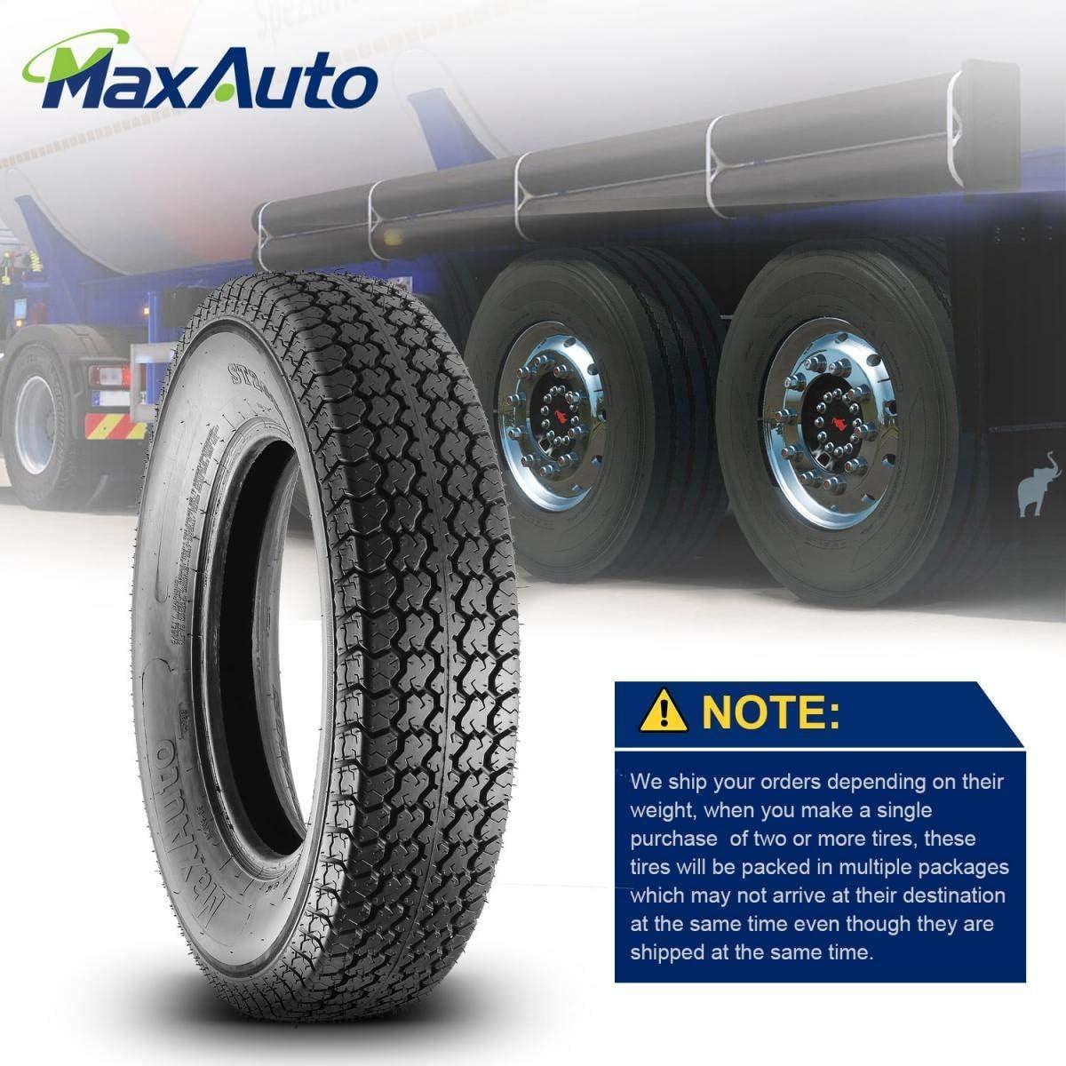 Trailer Tires 205//75D15 205 75 15 Deep Tread Load Range C 101//97L