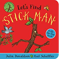 Let's Find Stick Man: A lift-the-flap board book