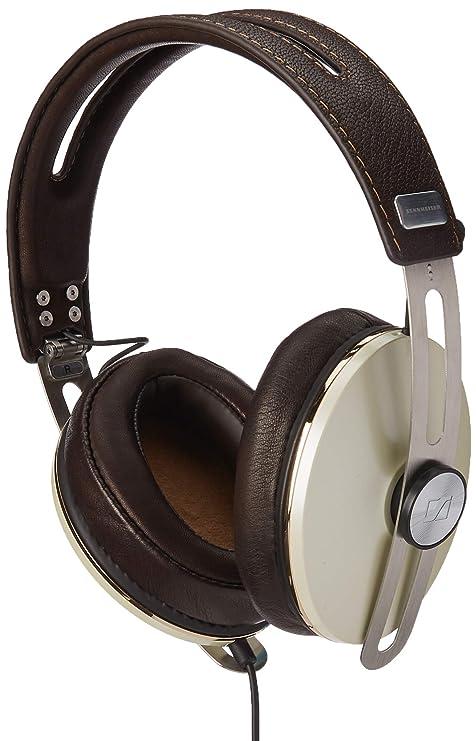 Sennheiser Momentum M2 Aei - Auriculares de Diadema Cerrados, Color Marfil y Plata