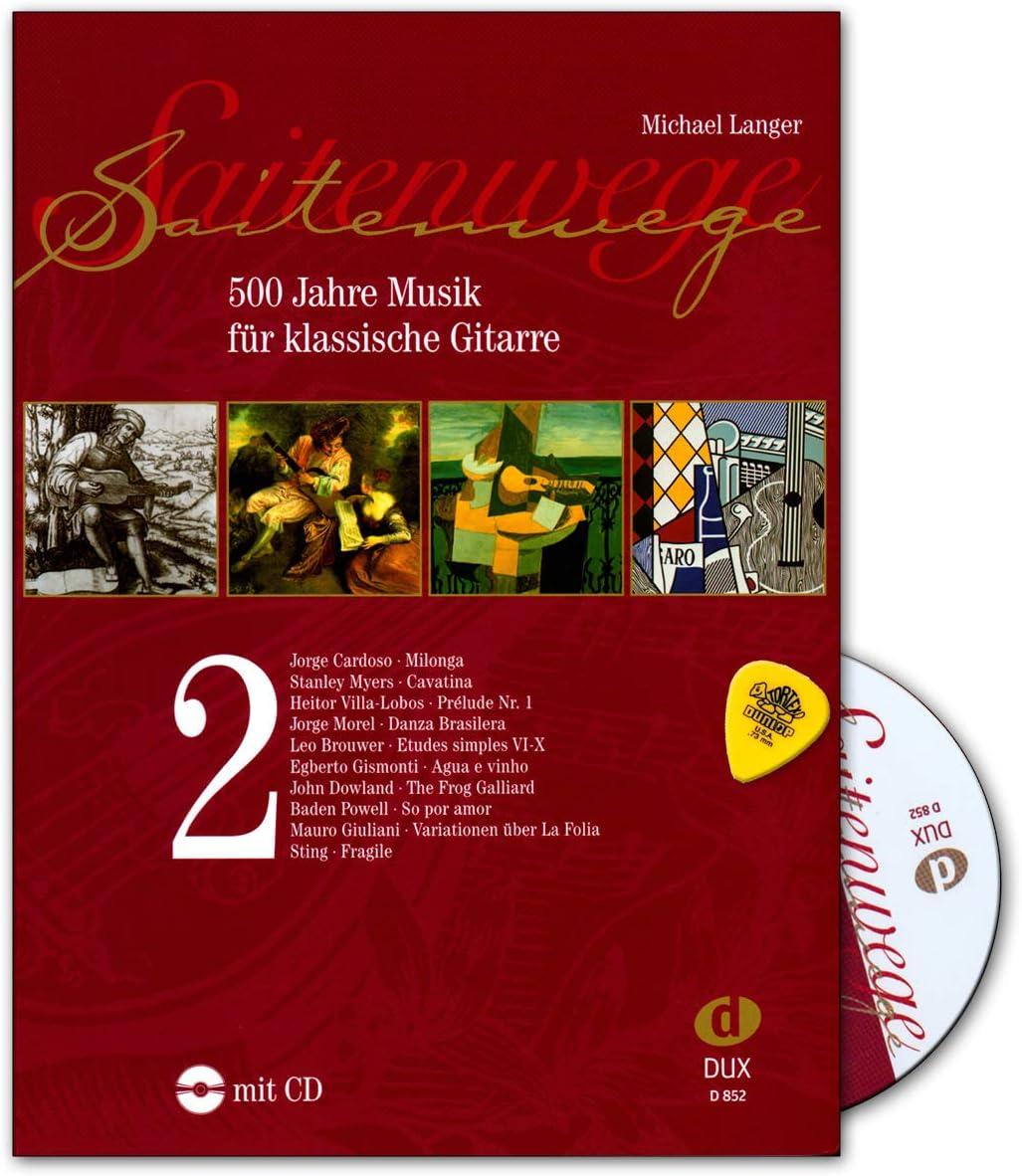 Cordón para guitarra clásica (2/500 años, con CD) Plek - 9783934958562