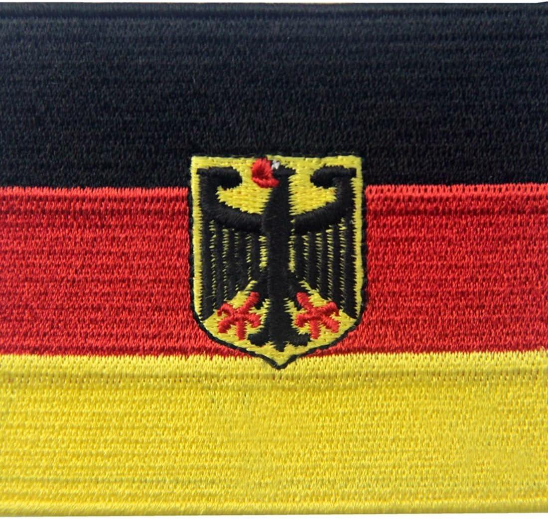 Bandera alemana del escudo de armas Alemania Eagle Parche Bordado de Aplicación con Plancha: Amazon.es: Hogar