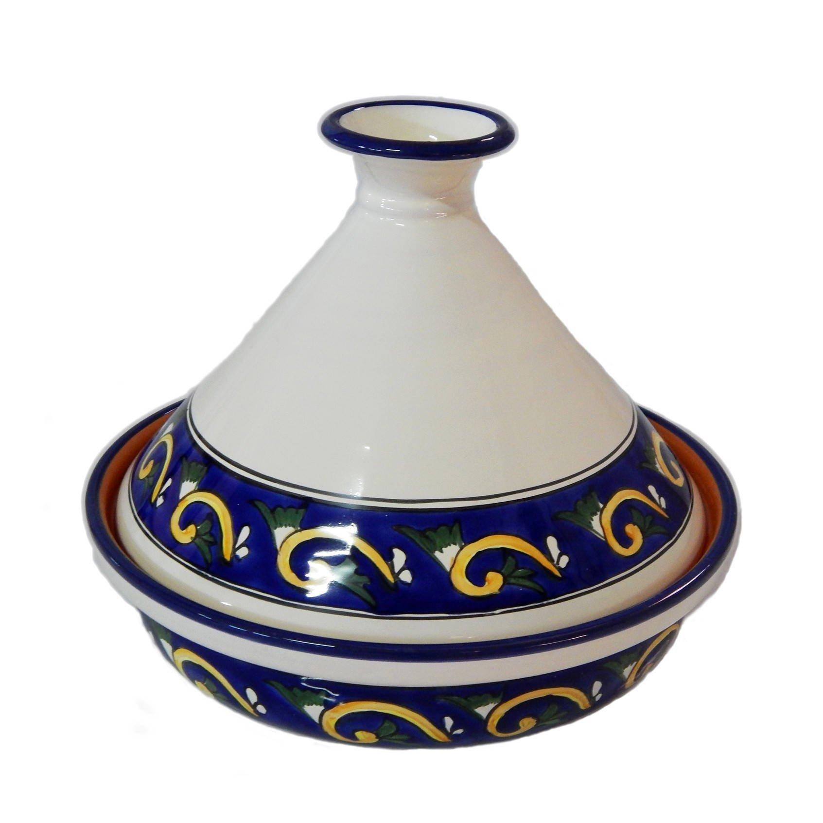 Le Souk Ceramique RY20CT Ceramic Stoneware, 2.5 L, Blue