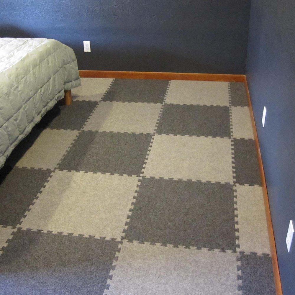Greatmats royal interlocking 2 ft x 2 ft carpet tiles 25 pack dark greatmats royal interlocking 2 ft x 2 ft carpet tiles 25 pack dark gray amazon baanklon Gallery
