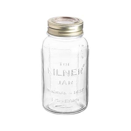 KILNER - Tarro de almacenaje edición Aniversario, Vidrio, Transparente, 0,75 L