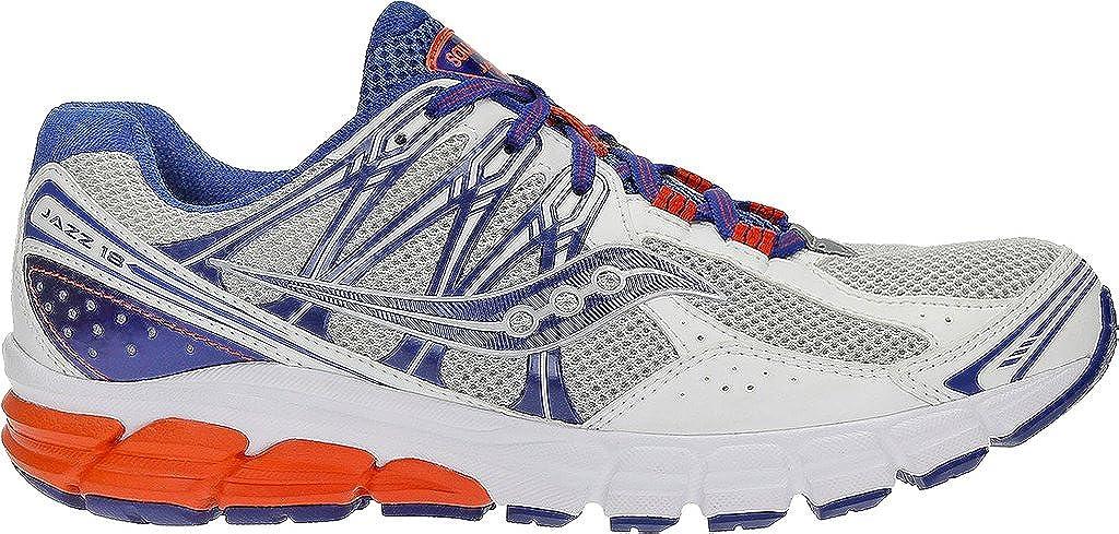 Saucony - Zapatillas de running de Material Sintético para hombre blanco Wht/Blu/Red 44 EU