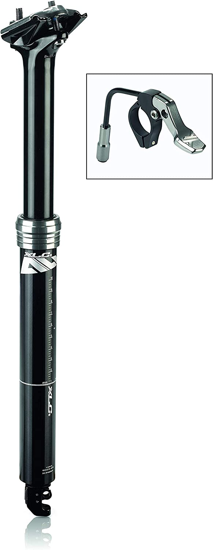 XLC Unisex - Adultos All MTN Tija telescópica SP-T11 Negro 370 mm