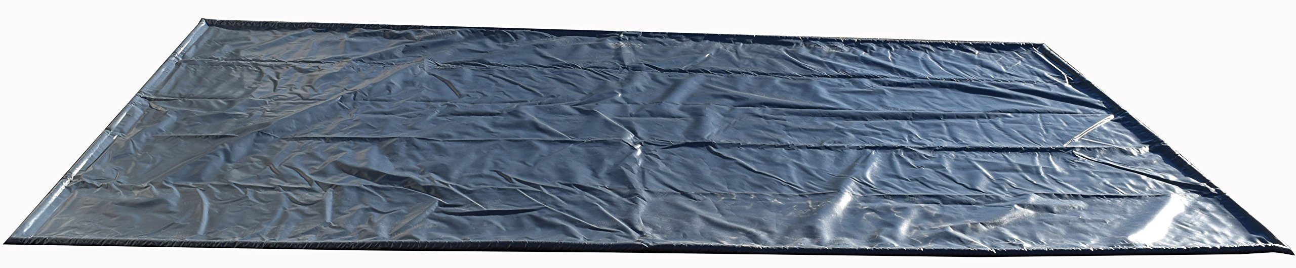 TruContain CM922 Containment Mat for Snow, Mud and Rain, 108'' W x 264'' H, Gray by TruContain (Image #1)