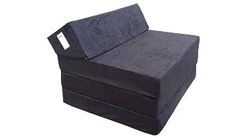 59b3837bd5b Natalia Spzoo El sillón de colchón Plegable para Invitados con Forma de  sillón sofá Cama Plegable